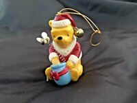 Classic Winnie the Pooh Santa Disney Midwest Cannon Falls Ornament Honeypot Bee