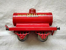 0 gauge HORNBY SeriesShell Motor Spirit Tank Wagon - 1924-7 Model