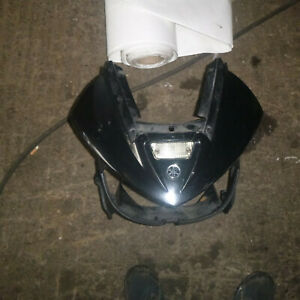 Yamaha TDM 900 5PS Nosecone Front Fairing Panel and Breaking Bike