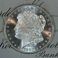 * 1880-S * CHOICE - GEM BU MS MORGAN SILVER DOLLAR * FRESH FROM ORIGINAL ROLL *