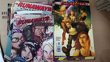 Alternative Comic lot runaways 2005 1-16 20-30 vf+ saga 1