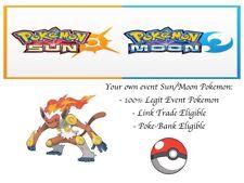 Pokemon Ultra Sonne und Mond Ereignis Jade Infernape + GOLD Kronkorken