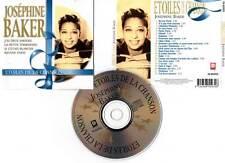 """JOSEPHINE BAKER """"Etoiles De La Chanson"""" (CD) 22 Titres 1999"""