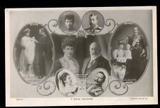 Royalty EDWARD VII and European Sovreigns RP PPC Germany Spain Norway