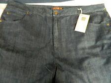 NWT LIZ & ME SIGNATURE FROM CATHERINES RIGHT FIT 7P (24WP) BLUE STYLE JEANS