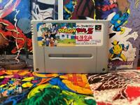 Dragon Ball Z Totsugeki Nintendo Super Famicom SFC SNES Japan Authentic