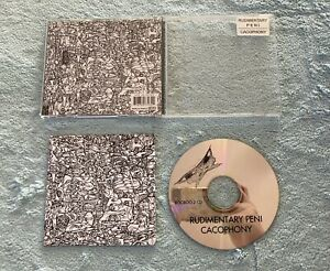 Cacophony by Rudimentary Peni (CD, Jun-2001, Outer Himalayan)
