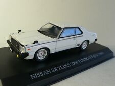 Nissan Skyline 2000 Turbo 1980 GT - With Light - DISM - White -  1:43