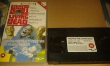 Deleted Title Horror Zombies VHS Tapes