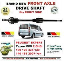 Drive Shaft Front RH Citroen C5 Dispatch Fiat Scudo Peugeot 407 Expert Manual