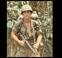 Vietnam War US Army Patrol PHOTO 101st Airborne Soldier Rifle 1968