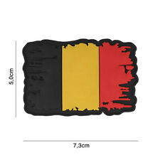 Belgien vintage #7110 Airsoft Paintball Patch mit Klett Softair Aufnäher