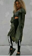 BEYONCE IVY PARK  Khaki Long Line Parka *SIZE LARGE* NEW WITH TAGS