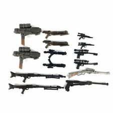 """14pcs Weapon Guns For 3.75"""" STAR WARS Clone Wars Figure Accesories Toy Gift"""