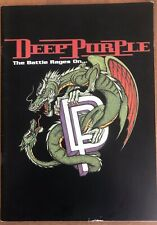 Deep Purple - The Battle Rages On...  1993 Tour Book