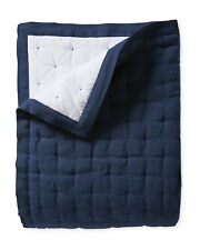 New ListingNwt $358 Serena & Lily Sutter Linen Quilt - Queen/Full - Navy Blue - Sold Out!