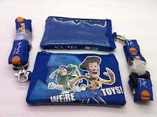 DISNEY TOY STORY ANDY'S TOYS LANYARD WITH DETACHABLE COIN POUCH/WALLET/PURSE-VR2