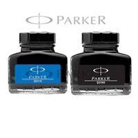 Original PARKER Quink Ink Bottle BLUE & BLACK  School, Office Use  Free Shipping