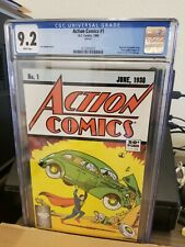 Action Comics #1 DC CGC 9.2