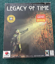 The Journeyman Project 3: Legacy of Time - PC Big Box Discs NM
