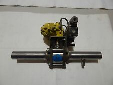 Kinetrol Limit Switch Unit with 1/4 actuator Model 050 7 BAR ball valve 1 1/2''