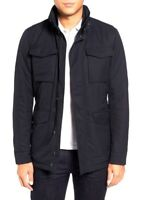 HUGO BOSS Water-repellent Black jacket with drawstring CENTIN 38R 40R 42R
