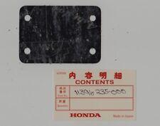 HONDA CA175 K0 CL175 K0 NOS LOWER CRANKCASE COVER GASKET Part # 11396-235-000