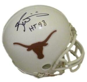 Ricky Williams Autographed/Signed Texas Longhorns Mini Helmet JSA 13839