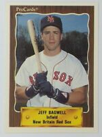 1990 90 ProCards Minor League Jeff Bagwell #1324, Astros, Red Sox, HOF