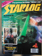 Starlog Magazine Number 15   August 1978 FREE SHIPPING