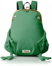 gym master Frog Frame Clutch Type Mini Backpack Green From Japan with Tracking