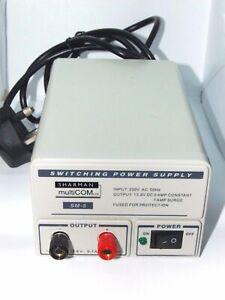 POWER SUPPLY 13.8V 5 to 7 AMP PSU CB HAM RADIO POWERPACK