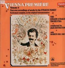 The Johann Strauss Orchestra(Vinyl LP)Vienna Premiere Volume 2-Chandos-VG/Ex+