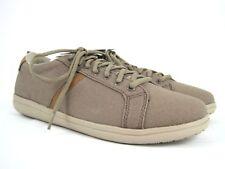 CROCS Torino Lace Up Men's Khaki/Cobblestone Dual Comfort Sneaker Size 8 NEW