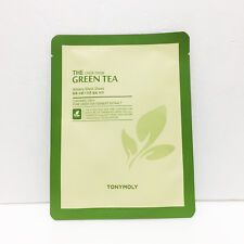 [Tonymoly] Green Tea Watery Mask Sheet 1ea 20g, Moisture Skin Care, Korea-Beauty