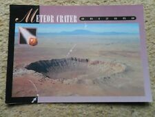 .POSTCARD.METEOR CRATER OF ARIZONA.POSTED 1997 50cSTAMP.