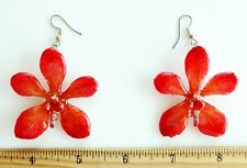 Real Orchid Earrings