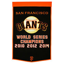 MLB Baseball GAGLIARDETTO/banner/PENNANT San Francisco Giants World Series WOOL/lana