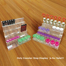 Acrylic Clear 5Tier Counter Step Display 14.75W x 13.75D x 8H Inches