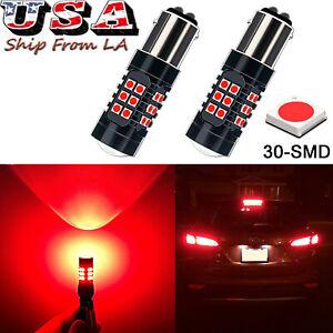 1157 2357 LED Strobe Flashing Warning Brake Tail Light Bulbs For Hyundai Kia