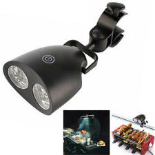 Barbecue Grill Light BBQ 10 Bright LED Lights with Handle Bar Mount Clamp Tool