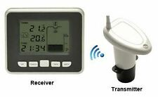 Ultrasonic Water Tank Level Meter with Thermo Sensor