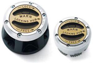 Warn Industries Pair of Premium Manual Hubs Fits F-250 & F-350 Super Duty #38826
