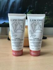 2 x Lancome CREME MOUSSE CONFORT Comforting Creamy Foaming Cleanser 4 oz total