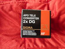 SIGMA Telekonverter (APO Tele Converter 2x EX DG AF) für Sony. Wie neu!
