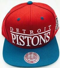 Nba Mitchell & Ness Detroit Pistons SNAPBACK CAP HAT.