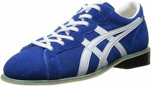 ASICS Weight Lifting Shoes 727 Blue White Leather TOW727 Select 11Size Japan