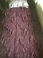 Purple Comforter from Anthropologie Size Full