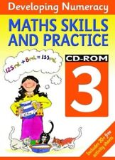 New, Developing Numeracy:Maths Skills and Practice 3 CD Rom: Maths Skills - Year