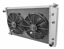 1973 to1987 Chevy Pickup Truck  MC716 Champion 4 Row Aluminum Radiator/Fans/Rely